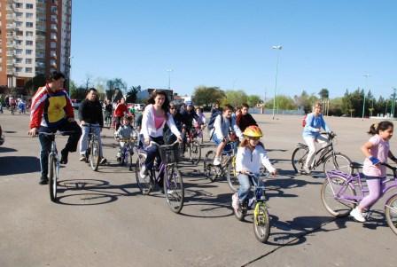 Se realizó la 7 bicicleteada del Rotaract Club de Tigre