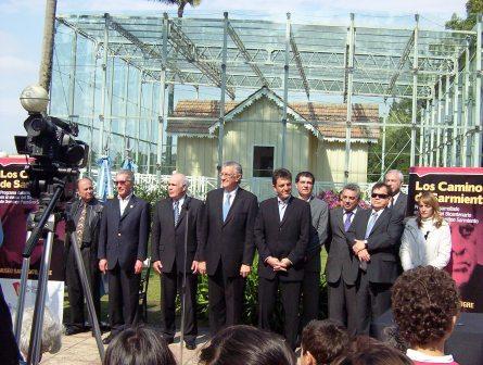 Massa y el Gobernador Gioja lanzaron el programa Los Caminos de Sarmiento