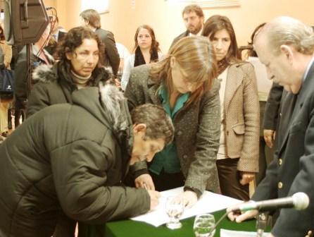 Histórica firma de escrituras en San Fernando