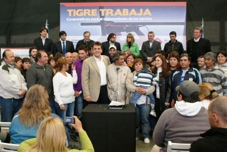 Más vecinos de Tigre se incorporan al trabajo formal para la mejora de los barrios