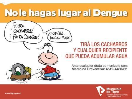 Sendra colabora en la campaña contra el Dengue