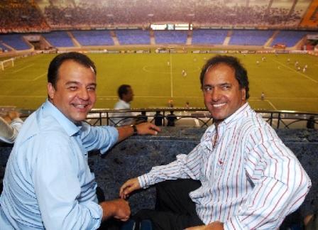 Scioli felicitó al gobernador de Río de Janeiro por la designación como sede olímpica