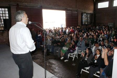 El Secretario General del Municipio, Julio Zamora, presentó el último de los cuatro módulos del Programa Ingreso Social con Trabajo