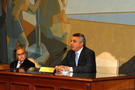 Julio Zamora asumió la presidencia del Concejo Deliberante