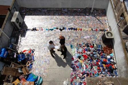 Secuestraron más de 15 mil cd a vendedores ambulantes de todo Pilar