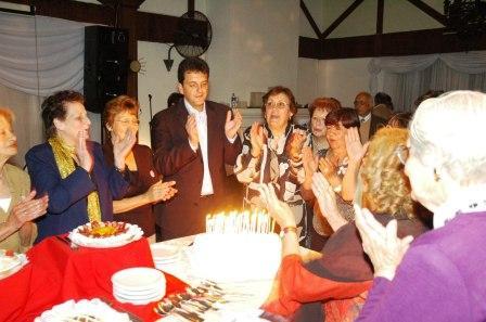 Las Damas Rosadas de Tigre  festejaron sus 40 años de solidaridad