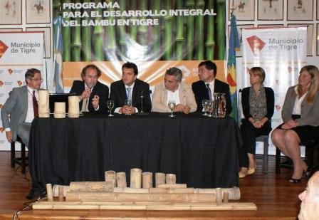 Se lanzó el Programa para el Desarrollo Integral del Bambú en Tigre