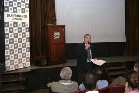 El municipio de San Fernando presentó el relevamiento de comercios e industrias 2008