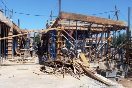 Continúan las obras del Nuevo Hospital de Tigre