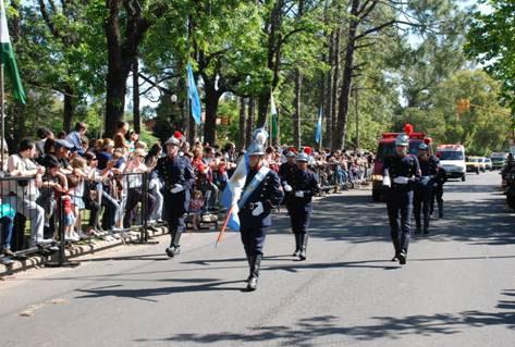 Los bomberos de San Isidro tuvieron su gran desfile
