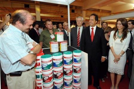 El Gobernador scioli junto al Intendente de San Martín en la inauguración de la EPSAM