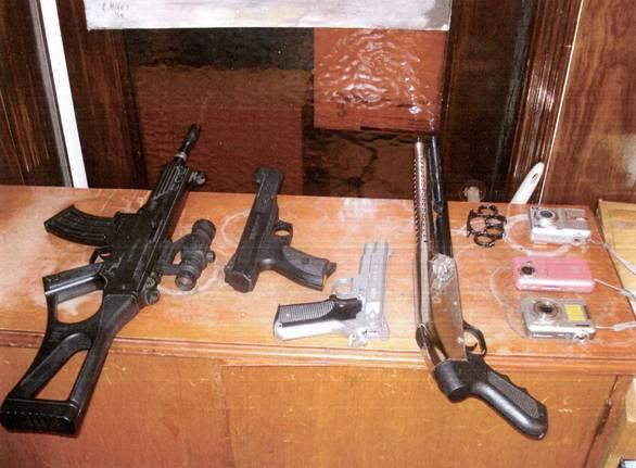 Detienen en San Isidro a 11 jóvenes portando replicas de armas