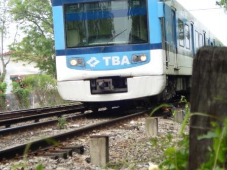 Una mujer se arrojó bajo un tren en Tigre