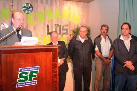 Amieiro y Scioli compartieron los festejos por el 74° día del isleño