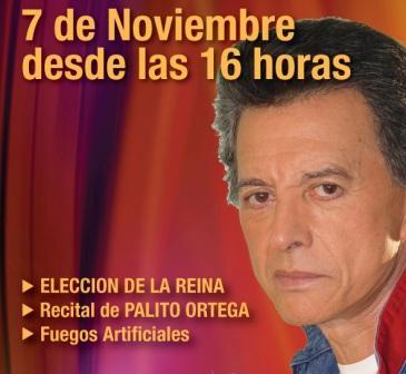 Palito Ortega en el aniversario de Don Torcuato