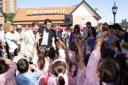 Tigre y McDonalds lanzan la Nueva Guardia de Pediatría