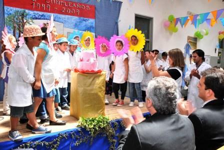 La Escuela 21 Amado Bonpland cumplió 60 años