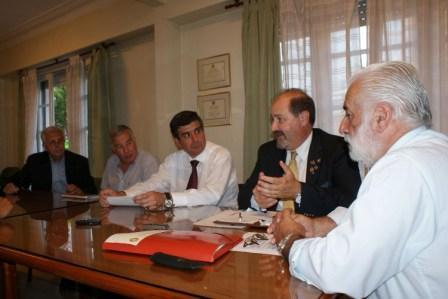 Visitó Tigre el gobernador del Rotary Club
