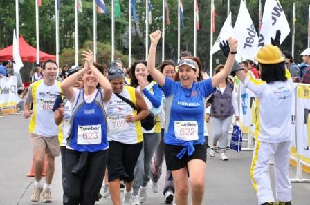 Se corrió la Maratón Weber en Tigre