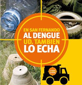 En verano, San Fernando refuerza su guardia contra el dengue.