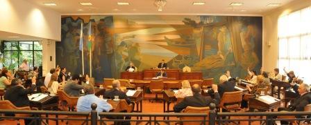 Una sesión especial en el Concejo Deliberante de Tigre