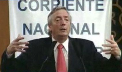 Néstor Kirchner ratificó que asume como diputado el 10 de diciembre