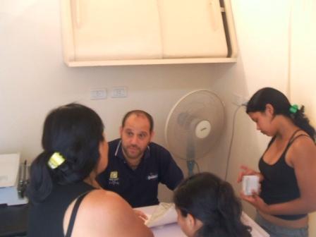 El iadepp realizó jornada de asesoramaniento en el Barrio El Indio de Tigre