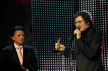Charly García y Mercedes Sosa, los grandes ganadoresde los premios Clarín Espectáculos