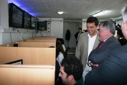 Das Neves visitó el Centro de Operaciones Tigre