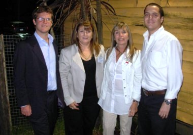 De izquierda a derecha: Marcos Hilding Ohlsson, Aurora Bastidas Alcacer, Ester Fandiño, Martín Muñiz