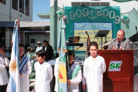 100 aniversario de la escuela 22 de San Fernando