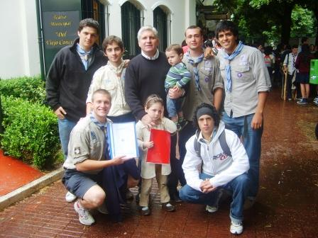 Scouts de Don Torcuato presentaron sus iniciativas solidarias en la feria de proyectos Acciones del mañana, hoy
