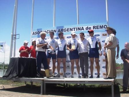 Gran nivel en el Campeonato Argentino de Remo