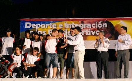 Tigre entregó los premios deportivos 2009