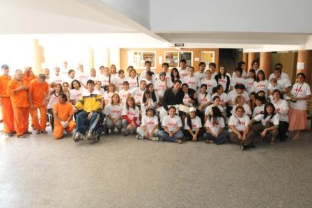 Realizaron trabajos voluntarios en la escuela técnica Nº5 de Tigre Centro