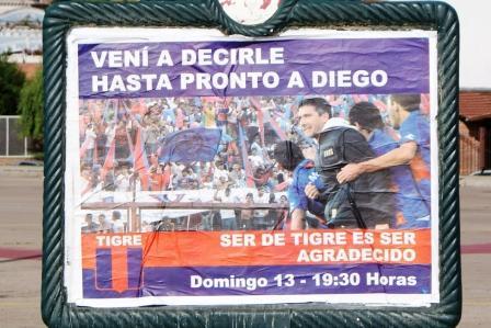 Tigre se prepara para despedir a Diego Cagna