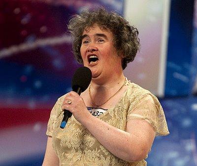 Susan Boyle, la más vista en YouTube