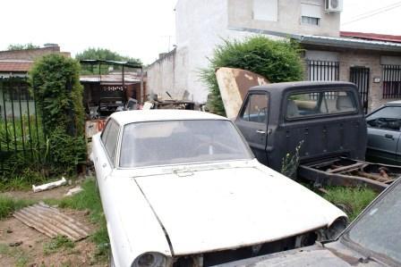 Desbaratan un desarmadero clandestino en Rincón de Milberg