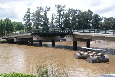 Se inaugura el puente Villa La Ñata - Dique Luján