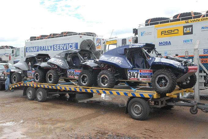 El Dakar hizo desembarco en Buenos Aires