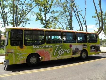 Nuevo Servicio de Bus Turístico en Tigre