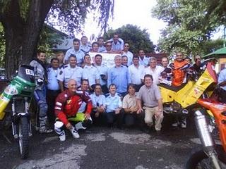 Tigre: motociclistas del dakar extraviados fueron rescatados por control de interceptación