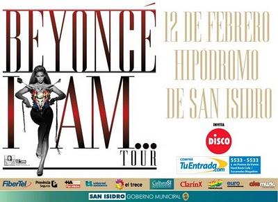 La cantante Beyoncé por viene por primera vez a la Argentina y dará su recital en el Hipódromo de San Isidro