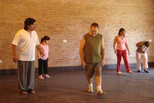 Tigre organizó un taller de danzas Folklóricas para Jóvenes con Capacidades Diferentes