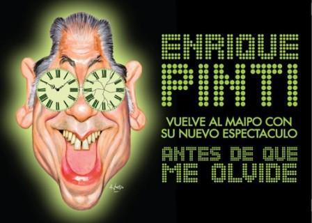Enrique Pinti en el Teatro Maipo