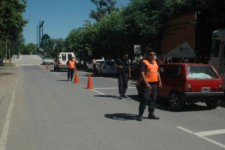 Control vehicular en la zona del Canal Villanueva