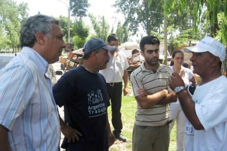 Avanzan los trabajos de las cooperativas en Tigre
