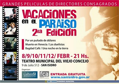 Ciclo de cine en San Isidro