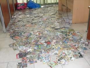 Durante un rutinario control de la vía pública secuestraron dos mil CDs y DVDs en Pilar