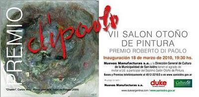 Concurso de pintura Roberto Di Paolo